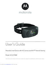 Motorola SCOUT5000 User Manual