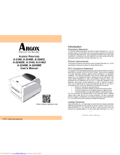 ARGOX A-2240E PPLA DRIVERS FOR PC
