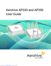 AEROHIVE AP330 USER MANUAL Pdf Download