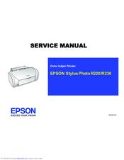 epson stylus photo r220 service manual pdf download rh manualslib com Epson R2400 Epson RX600