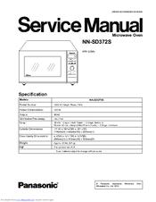 Panasonic Nn Sd372 Manuals Manualslib