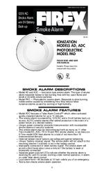 firex fx 1218 manuals rh manualslib com firex smoke alarm i4618 owners manual firex smoke alarm i4618 owners manual