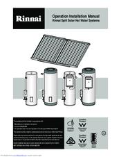 rinnai sunmaster manuals rinnai sunmaster operation installation manual