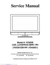 vizio vo420e 42 lcd tv manuals rh manualslib com Vizio VO420E LCD-screen Vizio VO420E Specs