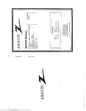 zenith dvb712 user manual