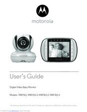 motorola mbp36s 2 manuals rh manualslib com motorola baby monitor manual mbp33xl motorola baby monitor manual mbp33bu