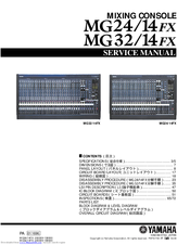 yamaha 32 channel mixer manual