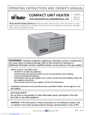 mr heater mhu 50 manuals manuals and user guides for mr heater mhu 50 we have 2 mr heater mhu 50 manuals available for pdf operating instructions and owner s
