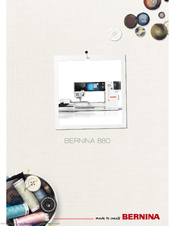 Bernina 880 Manual