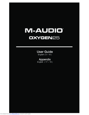 M Audio Oxygen 49 User Manual