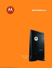 Motorola CPEI 150 series User Manual