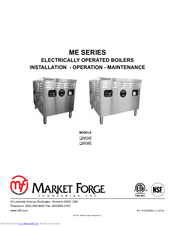 market forge industries m24e manuals rh manualslib com Market Forge Steam Kettle Market Forge Parts Replacement