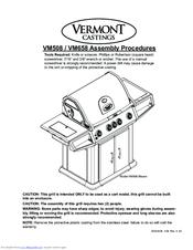 vermont castings vm508 manuals rh manualslib com vermont castings gas grill owner's manual Vermont Castings BBQ Grills