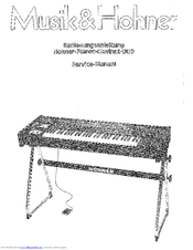 Hohner Pianet/Clavinet DUO Instruction Manual