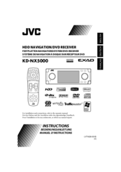 JVC KD NX5000 - Navigation System With HDD Instructions Manual