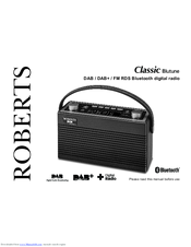roberts classic blutune manuals rh manualslib com roberts dab radio user manual roberts radio stream 107 user manual