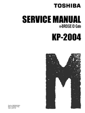 Toshiba KP-2004 Service Manual