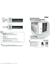 Haier 000 BTU Quick Start Manual