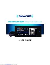 sirius xm radio commander touch manuals rh manualslib com sirius satellite radio manual pdf sirius satellite radio manual pdf