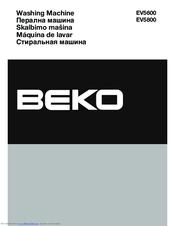 Beko Ev 7100 Manuals