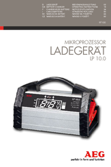 AEG LADEGERAT LP 10.0 Operating Instructions Manual