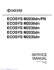 kyocera ecosys m2030dn pn service manual pdf download rh manualslib com Manual Book Chilton Repair Manual