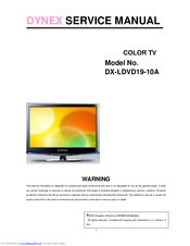 dynex dx ldvd19 10a 19 lcd tv manuals rh manualslib com User Guide Template Instruction Manual