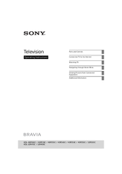 Sony BRAVIA KDL-32R410C Operating Instructions Manual