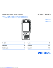 Philips DPM8000 Manual