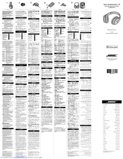Bose QuietComfort 25 Manuals