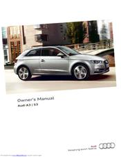 audi a3 sportback manuals rh manualslib com 2015 Audi A3 Sportback Audi A3 Convertible