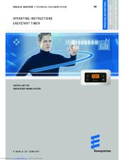 Eberspächer EasyStart Timer Manuals