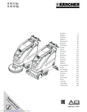 Kärcher B 40 C Bp Manuals