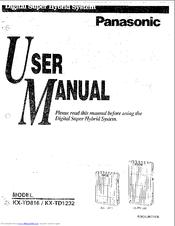 panasonic kx td1232 manuals rh manualslib com Installation Guide kx-td816 installation manual