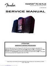 fender passport pd 150 plus manuals rh manualslib com Fender Passport 250 Owner's Manual Fender Passport P-150