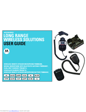 Motorola PMMN4095 series User Manual