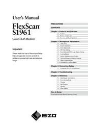 EIZO FLEXSCAN S1961 DESCARGAR CONTROLADOR