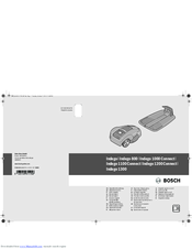 Bosch Indego Original Instructions Manual