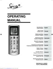 daikin siesta arcwla manuals rh manualslib com daikin siesta manuale d'uso telecomando daikin siesta manual instrucciones
