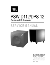jbl psw d112 service manual pdf download rh manualslib com jbl psw-d110 service manual HP Photosmart D110 Ink