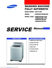 samsung sw82asp manuals rh manualslib com Samsung Washing Machine Parts Diagram samsung automatic washing machine service manual