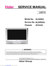 Haier HL22XSL2 Service Manual
