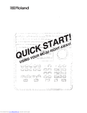 roland mc 50 mkii manuals rh manualslib com roland mc-50 service manual roland mc 50 user manual