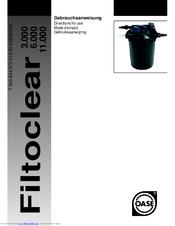 Oase Filtoclear 6000 Manuals