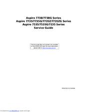 acer aspire 7738g series manuals rh manualslib com Ron's Guide Service Army Service Uniform Guide Illustrations