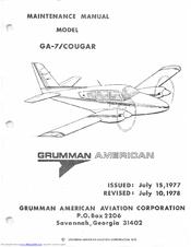 grumman american ga 7 cougar manuals rh manualslib com Grumman Jet Aircraft Grumman F9