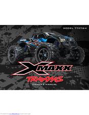 TRAXXAS XMAXX 77076-4 OWNER'S MANUAL Pdf Download