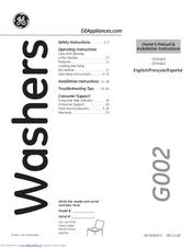 ge gtw460 manuals rh manualslib com ge washer gtw680bsjws user manual GE Washing Machine Problems