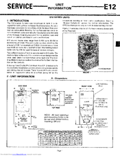 lennox e12q3-15 service information (10 pages)