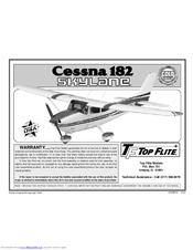 top flite models cessna 182 skylane manuals rh manualslib com cessna 182 manual flaps cessna 182 manual download